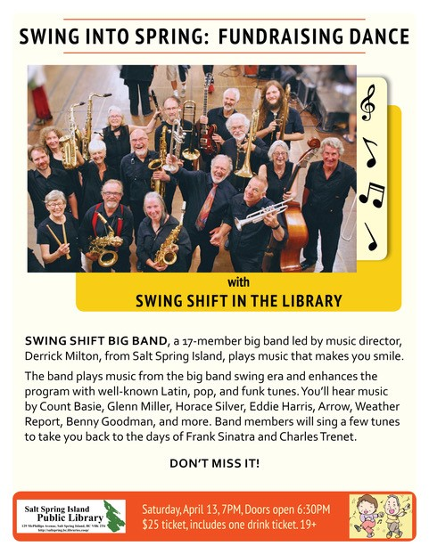 Swing into Spring: Fundraising Dance @ Library
