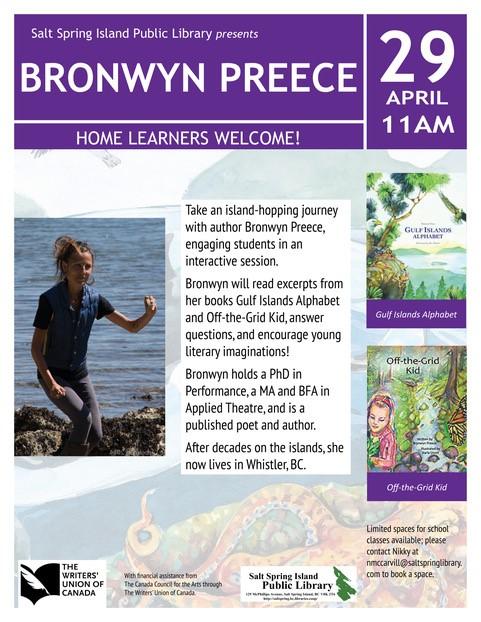 Bronwyn Preece @ Community Program Room