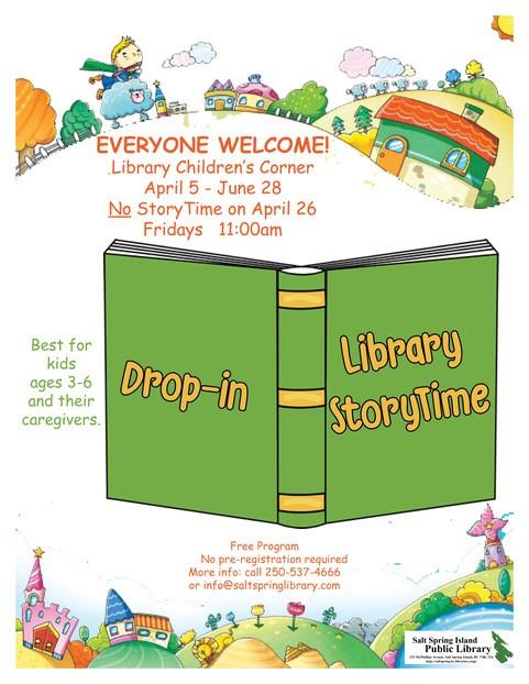StoryTime @ Library Children's Corner