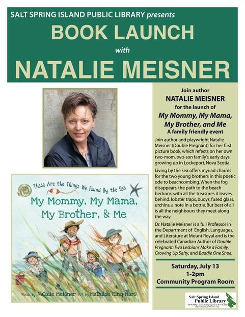 Natalie Meisner @ Community Program Room
