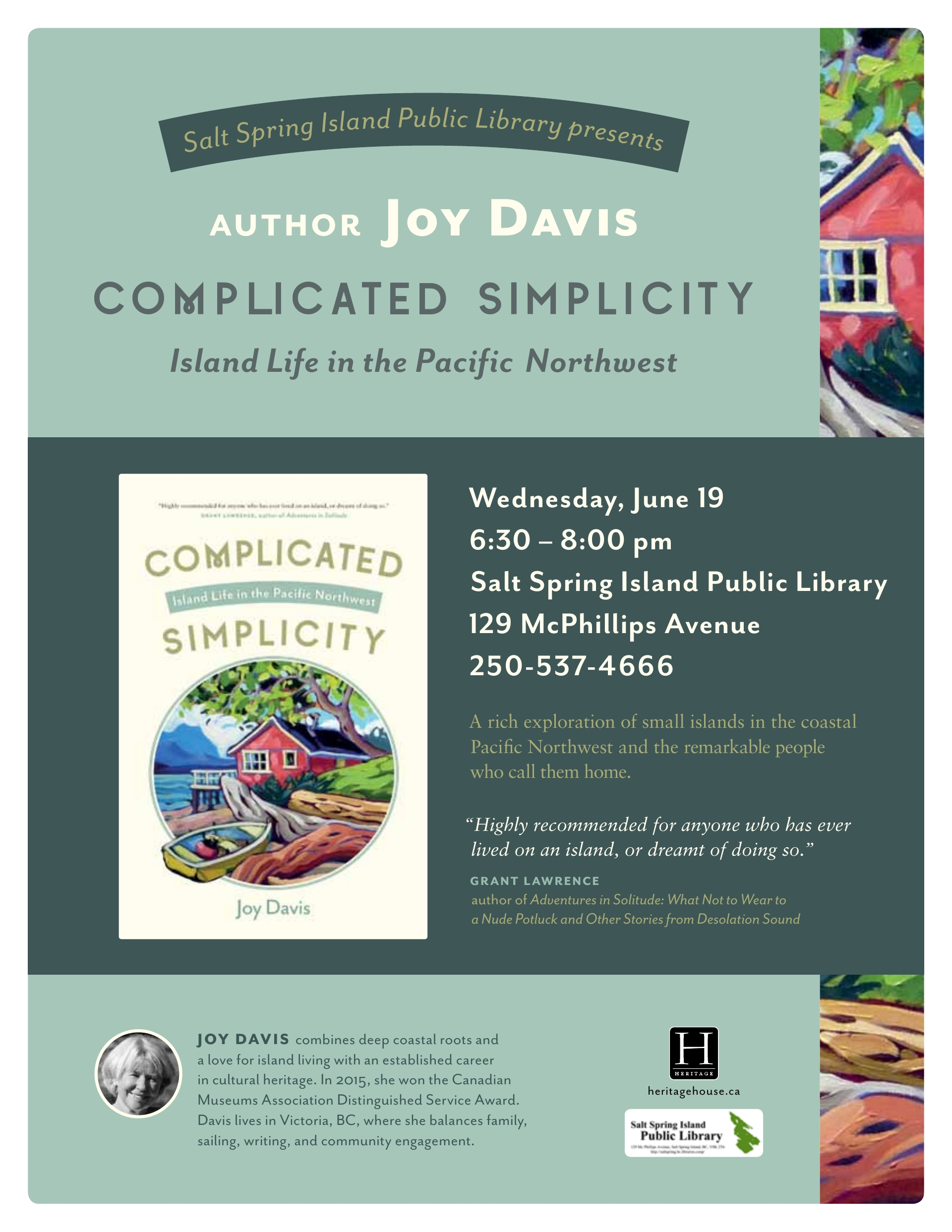 Joy Davis @ Community Program Room