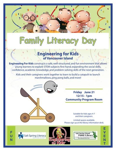 Family Literacy Day @ Community Program Room