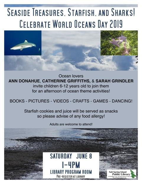 World Ocean Day @ Community Program Room