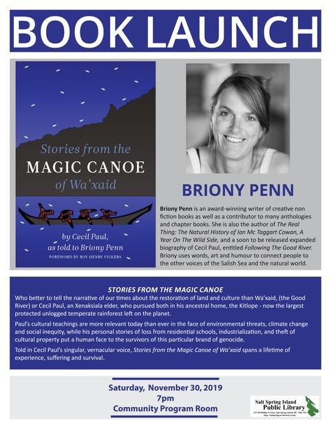 Briony Penn @ Community Program Room