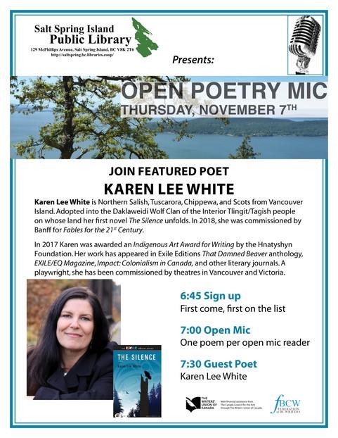 Poetry Open Mic @ Community Program Room