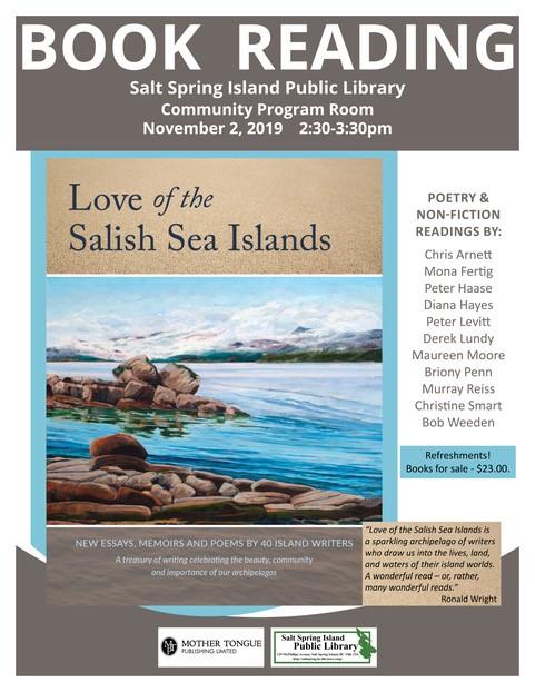 Love of the Salish Sea Islands @ Community Program Room