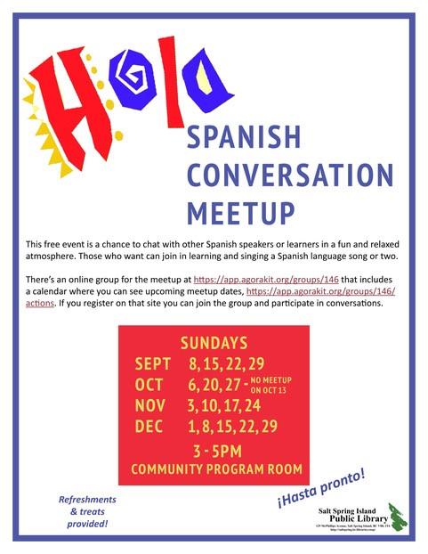 Spanish Conversation Meetup
