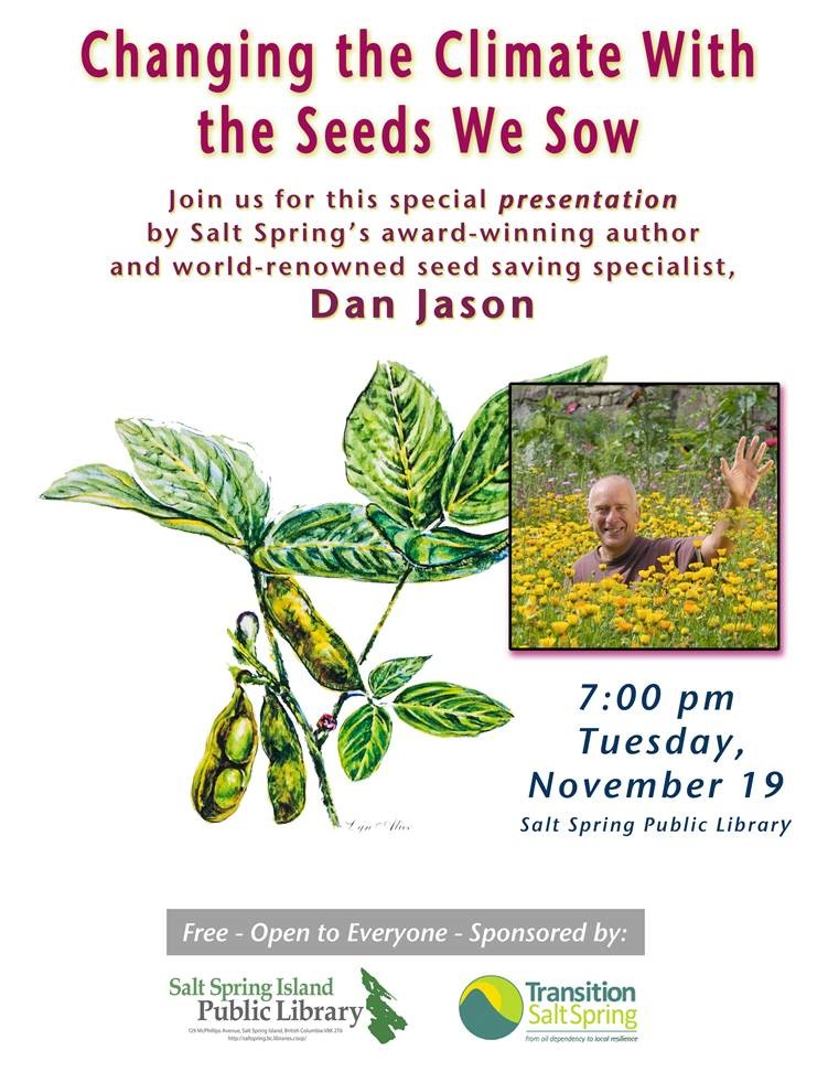 Changing the Climate with the Seeds we Sow @ Community Program Room