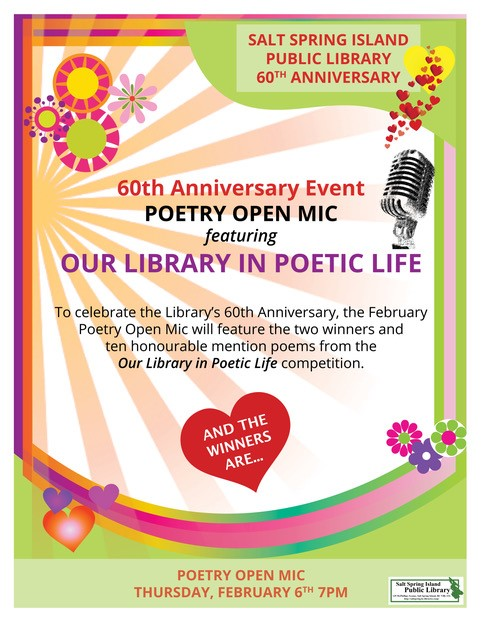 Poetry Open Mic - Our Library in Poetic Life @ Community Program Room