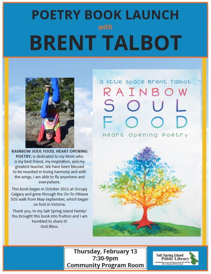 Book Launch: Rainbow Soul Food @ Community Program Room