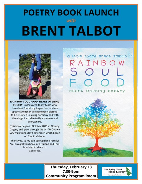 Poetry Book Launch: Rainbow Soul Food @ Community Program Room