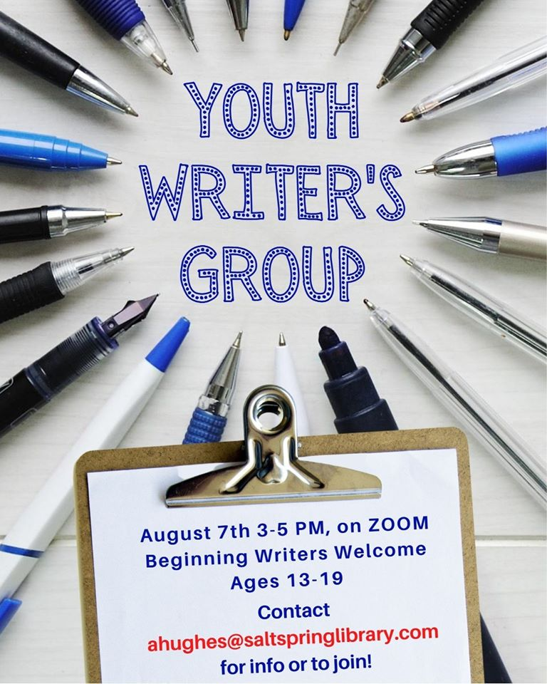 Youth Writer's Group @ Online Meeting