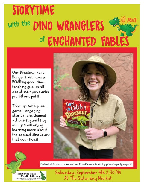 Dino Wranglers of Enchanted Fables @ Saturday Market